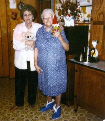 My Great Aunt Red and My Great Grandmother, Lela