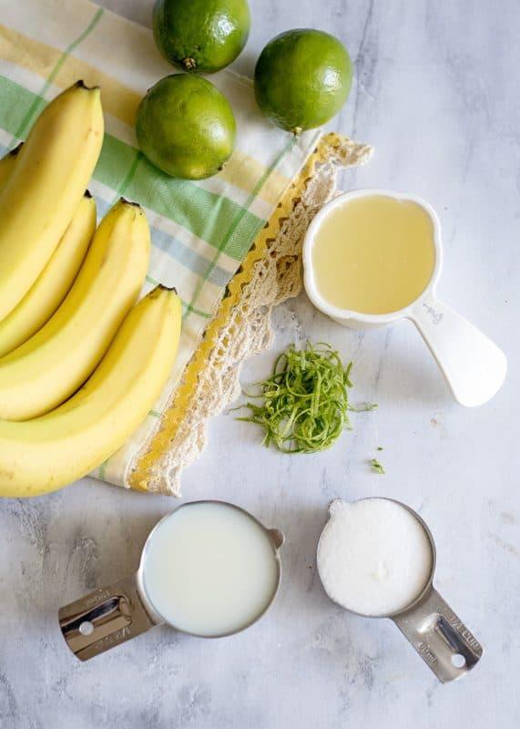 Bananarita Smoothies Ingredients