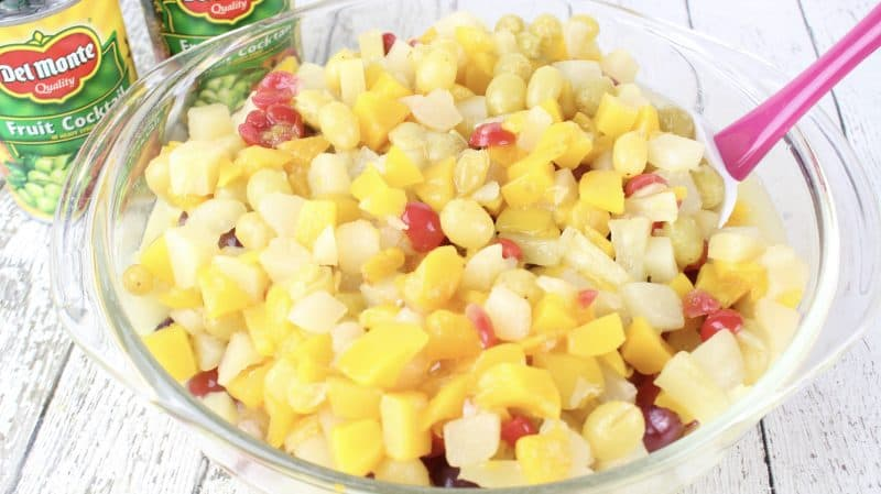 Grandmama's Holiday Fruit Salad