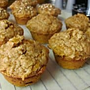 Pumpkin Spice Muffins with Streusel (You're not going to believe what the ingredients are!)