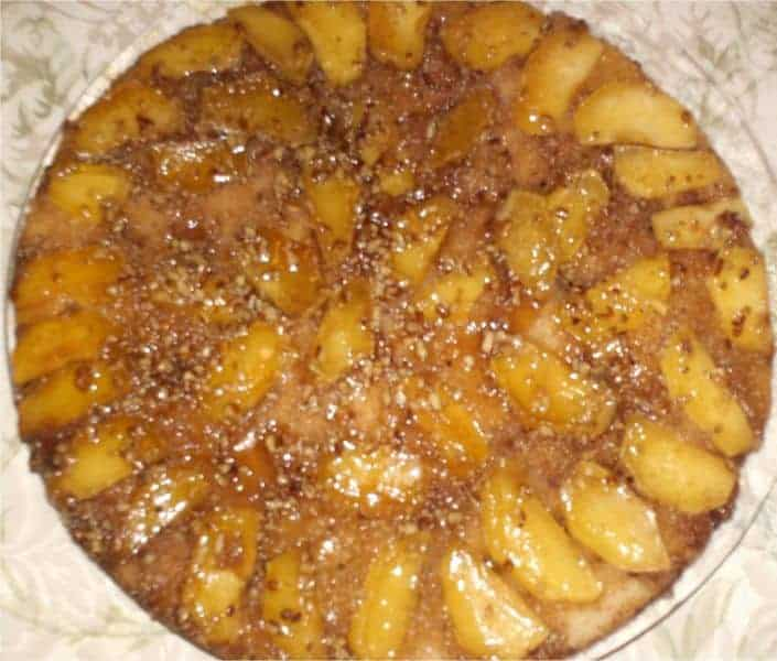Apple Skillet Cake | Southern Plate