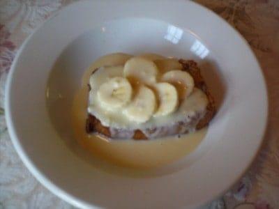 Banana Bread Pudding Sundae