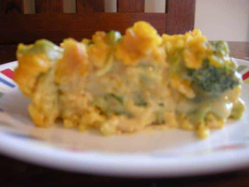 recipe: chicken broccoli cheese rice casserole velveeta [28]