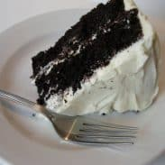 Chocolate Velvet Cake With Cream Cheese Icing (And why you are a good Mama if your cake is ugly)