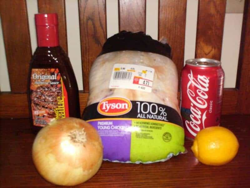 """Slow Cooker Coke Chicken ~#1 On My List Of """"Things I Like To Toss In ..."""