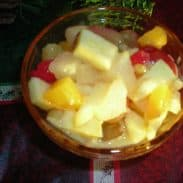 Holiday Fruit Salad (My favorite thing in the world to eat!!)