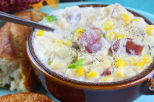 Tina's Corn Chowder (And Why We Southerners Are Pansies)