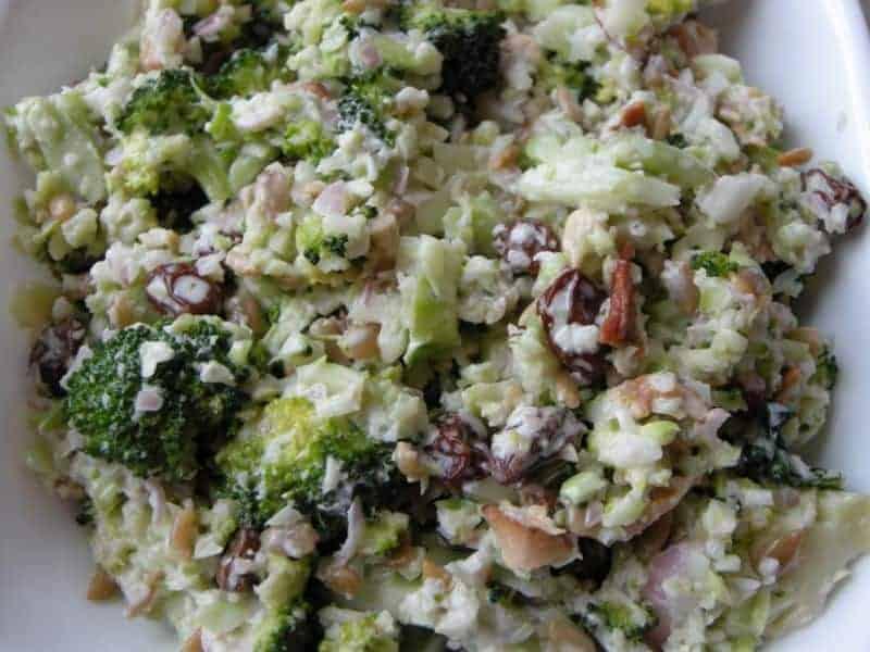 Rhyming Broccoli Salad | Southern Plate