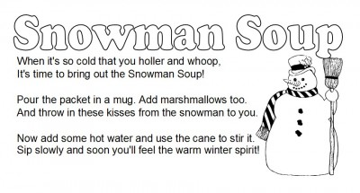 Homemade Hot Chocolate Mix (and Snowman Soup Kits!)   Southern Plate