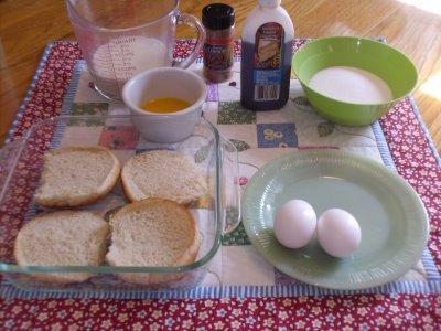 Bread Pudding Recipe Using Hot Dog Buns