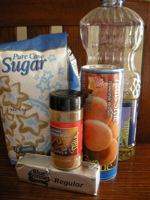 Ingredients For Canned Biscuit Doughnuts