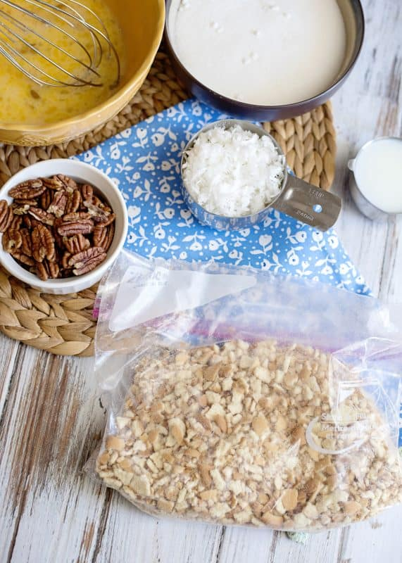 Crushed Wafers for Mama Reed's Vanilla Wafer Cake Recipe