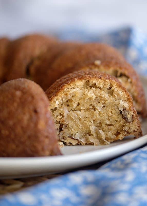 Mama Reed's Vanilla Wafer Cake Recipe Baked up!