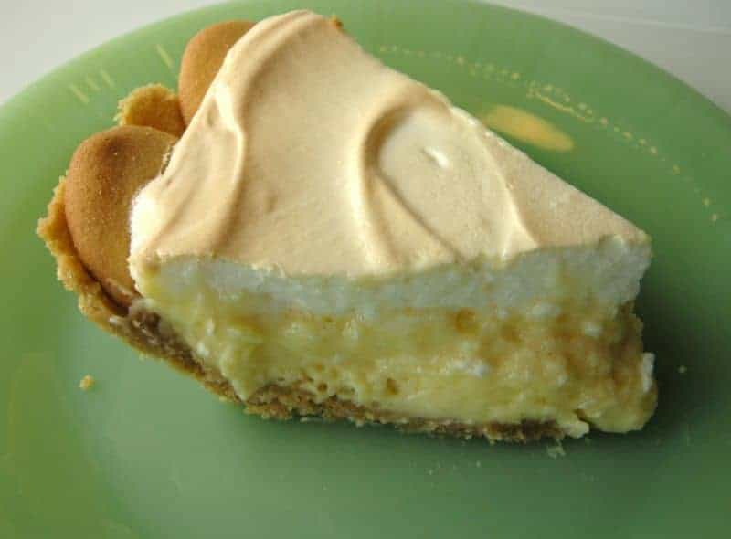 Lemon Meringue Pie With Cookie Crumb Crust Southern Plate