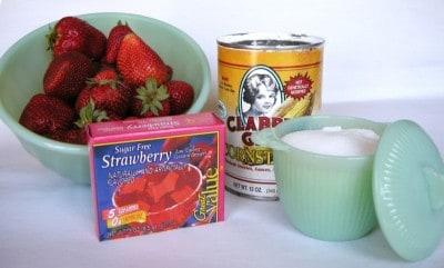 Strawberry Quick Powder Strawberry Gelatin Powder