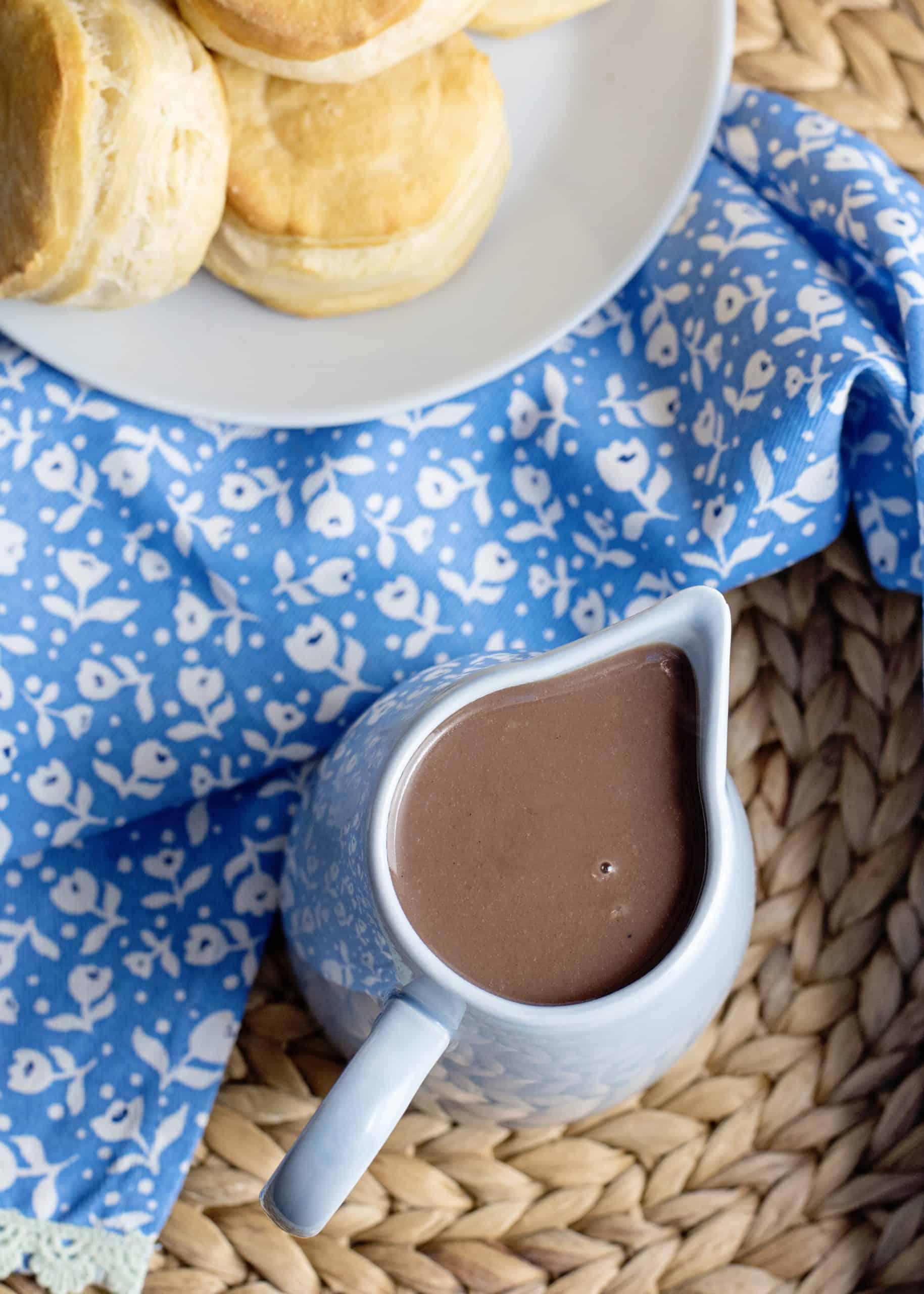 chocolate gravy bowl