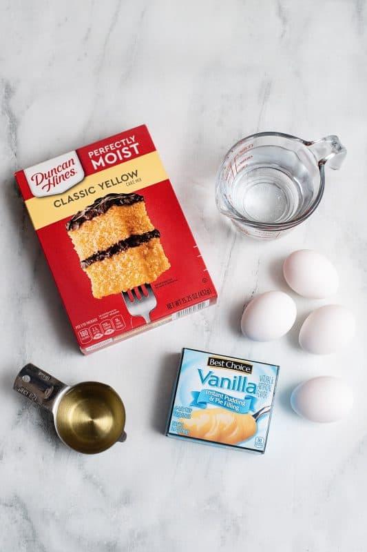 simple cake ingredients