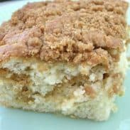 Banana Crumb Cake (and the name of my home)