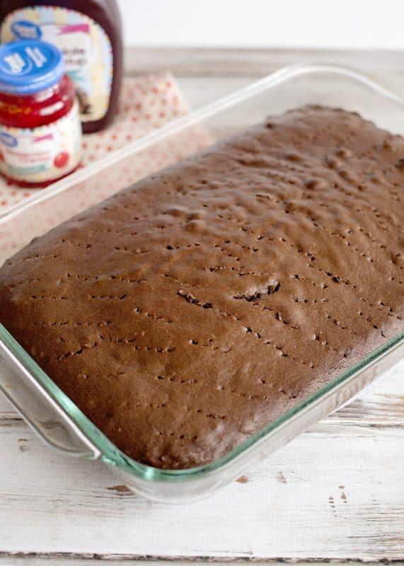 Baked Base For Chocolate Sundae Cake