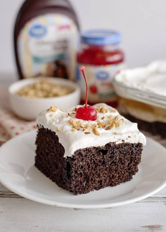 Chocolate Sundae Cake