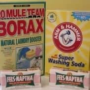 Household Recipes: Homemade Laundry Detergent