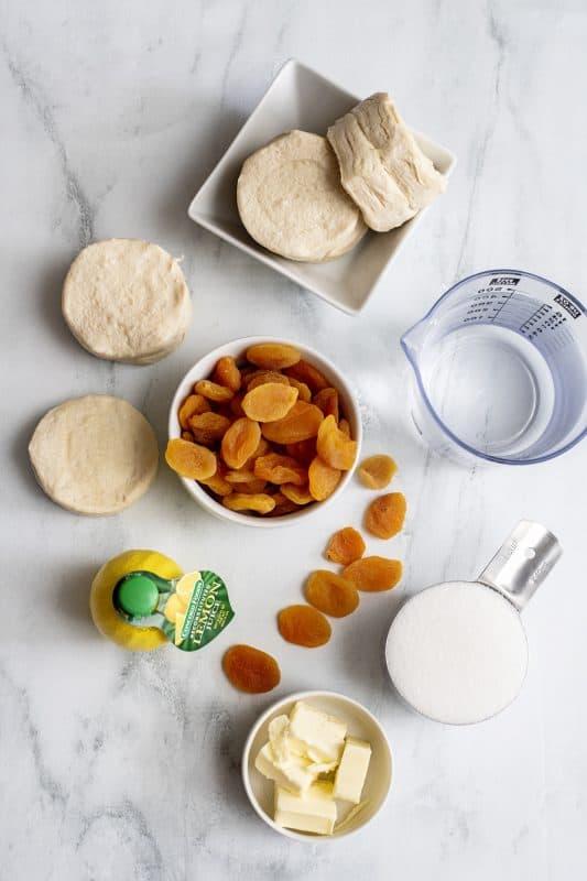 Fried Pie ingredients