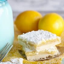 Lemon zest bar