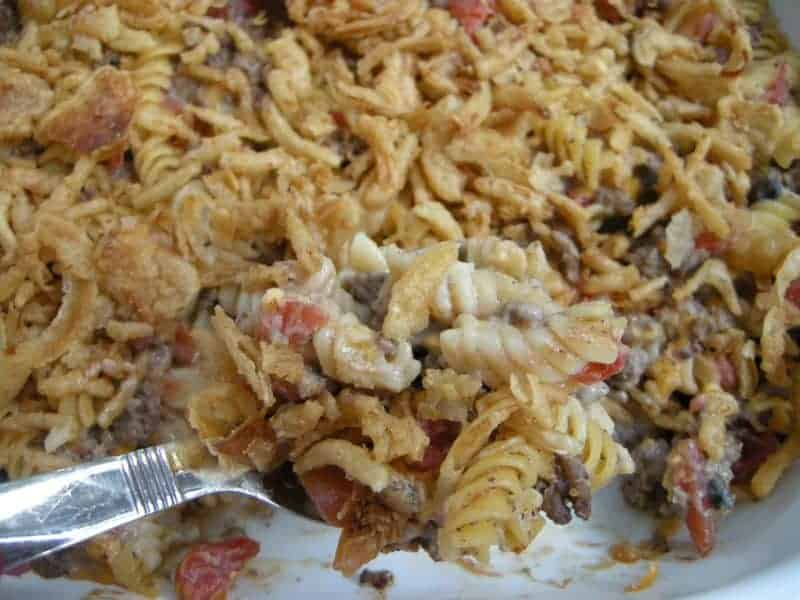 Crunchy Beef Casserole