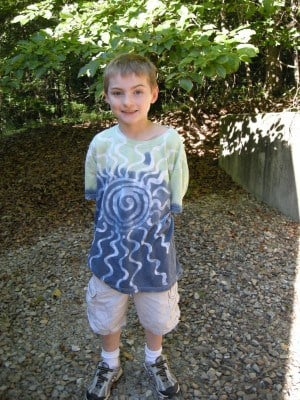 Easy Peasy Batik Dyed T Shirts from Southernplate
