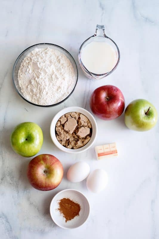 apple fritter ingredients