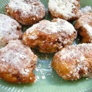 Apple Fritters and Fall Days