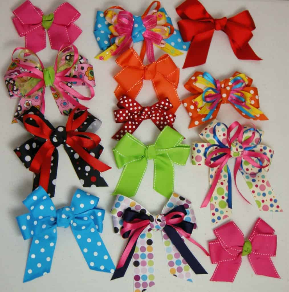 How to make hair bows video step by step southern plate baditri Image collections