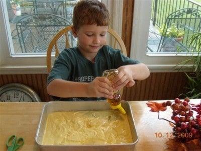 Lane's honey bun cake 006