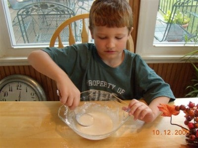 Lane's honey bun cake 010