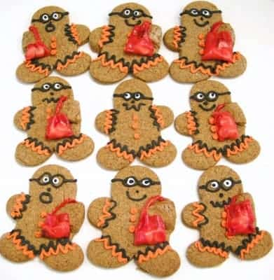 SouthernPlate Halloween Gingerbreads