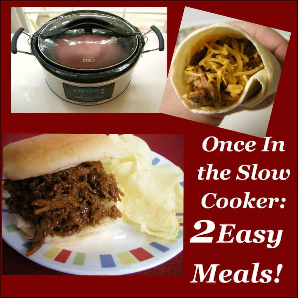 What We Re Reading Quick Slow Cooking: One Slow Cooker Recipe: 2 Different Meals: Both Quick And