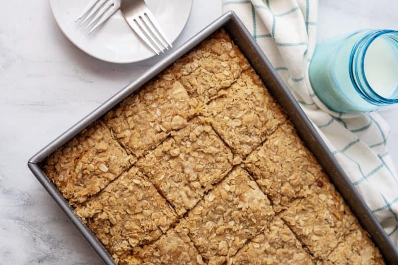 pumpkin crumb cake squares