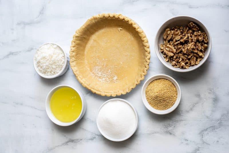 ingredients sawdust pie