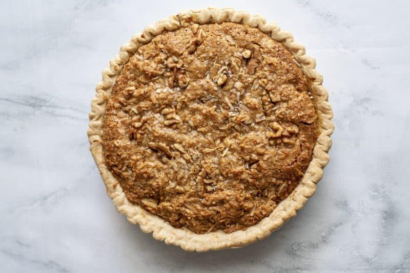 baked sawdust pie