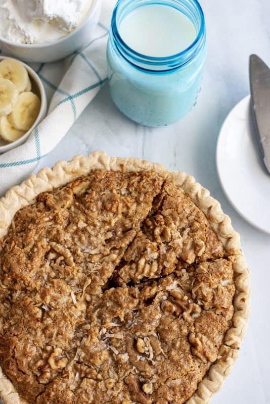 slice of sawdust pie