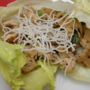 Chicken Lettuce Wraps – y'all!