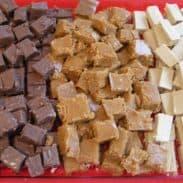 Cinnabun, Chocolate, and Peanut Butter Fudge!