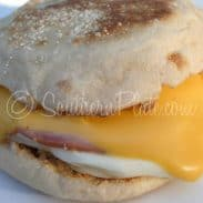2 Minute English Muffin Breakfast – I Want To Raise My Kids In A Barn!