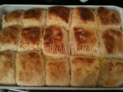 Hot from the oven, Jordan Rolls