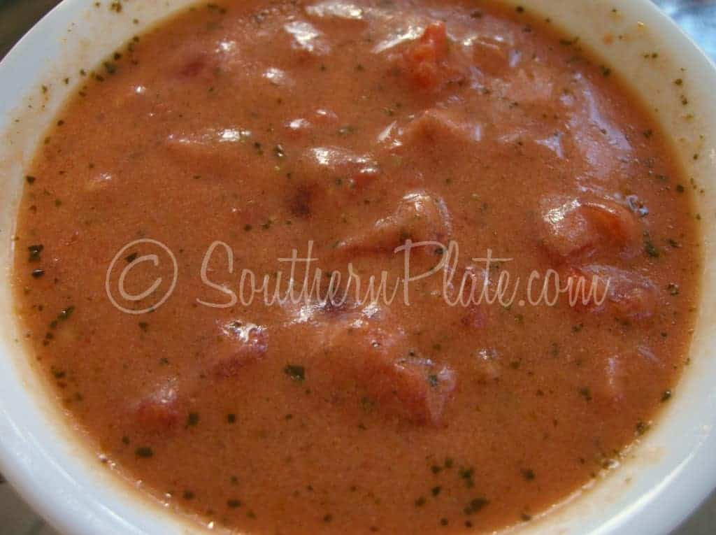 Simple and Delicious Tomato Soup (Sewanee, How I Love Ya ...