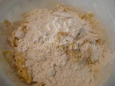 add in flour