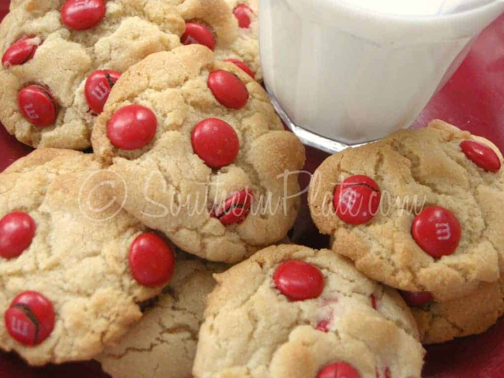 Mama\'s Milk Dunkin\' M & M Cookies For Valentines (Old Fashioned ...
