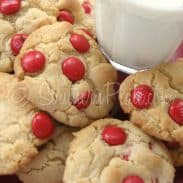 Mama's Milk Dunkin' M & M Cookies For Valentines (Old Fashioned Recipe!)
