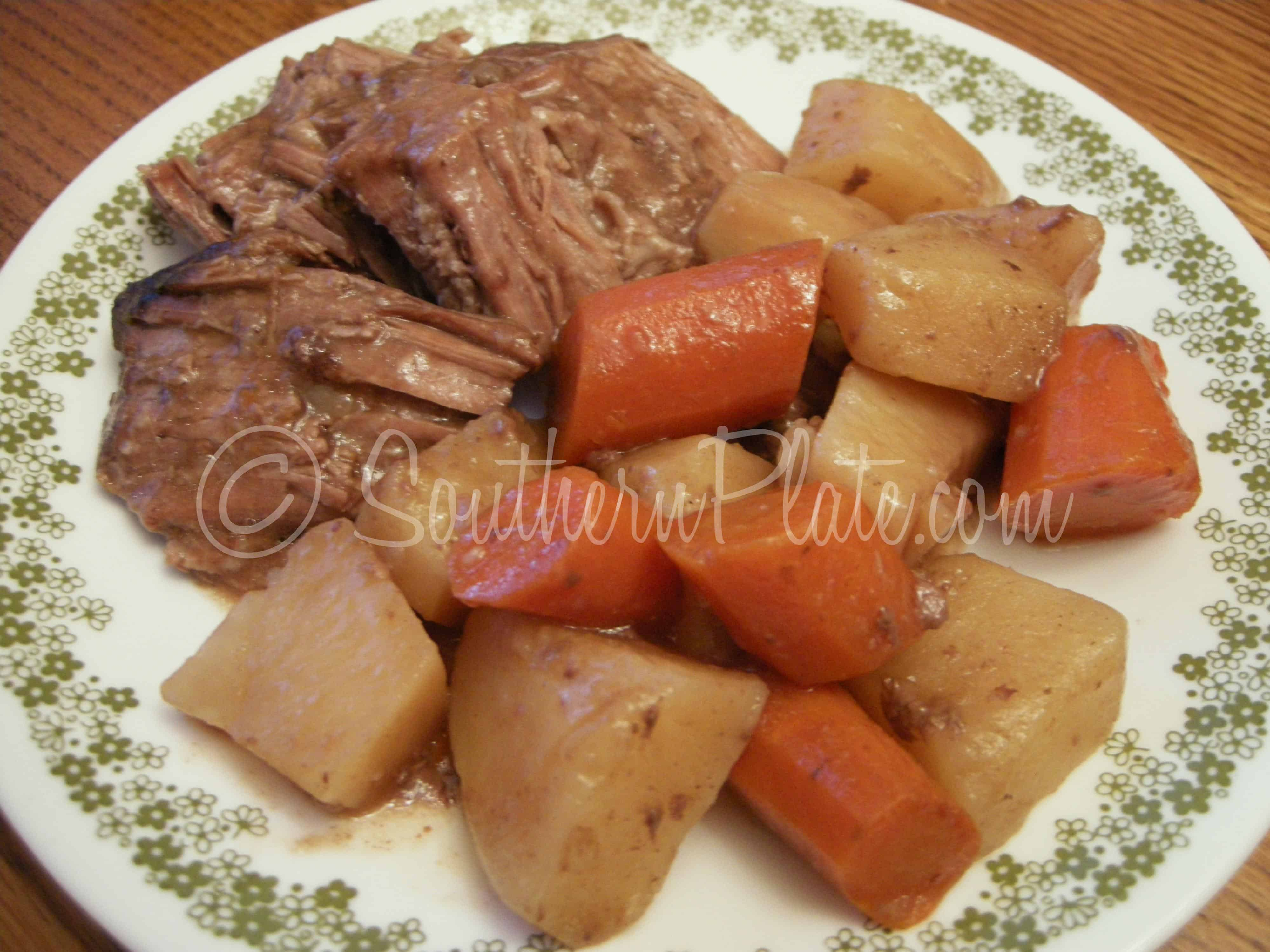 Tender Roast And Veggies
