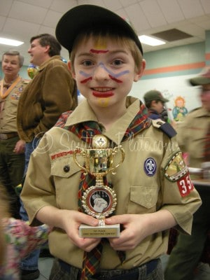 Cub Scout Face Paint Bobcat